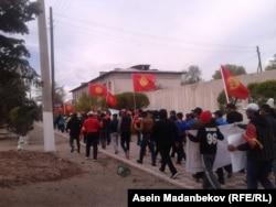 Акция в Балыкчи.