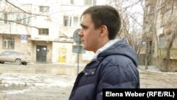 16-летний Владимир Маурер, который предстал перед судом по обвинению в избиении полицейских. Караганда, 20 марта 2013 года.