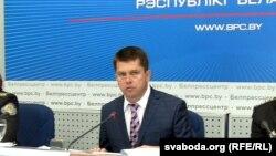 Намесьнік міністра юстыцыі Беларусі Валер Кулакоўскі