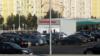 'Ak şäherim Aşgabat' ýa-da gara awtomobilleri agartmak galmagaly Lebaba ýetdi