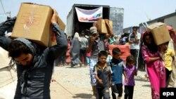 Timovi UNICEF-a civilima dostavili vodu i druge zalihe za narednih sedam dana