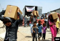 صدها هزار نفر از مردم عراق در پی سقوط موصل و نینوا، آواره شدند