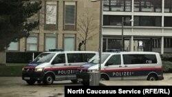 Полицейские машины в Вене, Австрия