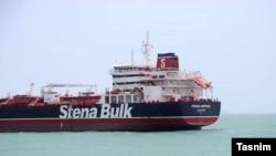 Бендер-Аббас портындағы британдық Stena Impero мұнай танкері.