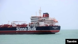 "Британский танкер ""Стена Имперо"""
