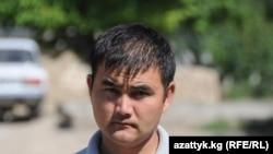Kyrgyz Service correspondent Jengish Aidarov (August 1, 2013)