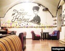 Bakıda Franz Kafkanın adını daşıyan book-cafe.
