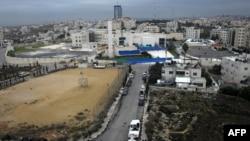 Pamje nga qyteti Ramallah në Bregun Perëndimor