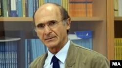 Денко Малески, професор