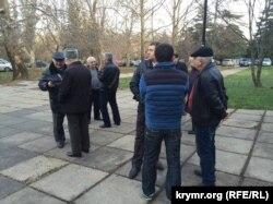 """Верховный суд Крыма, первое заседание суда по """"делу 26 февраля"""", 28 декабря 2015 года."""