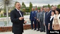 İlham Əliyev - 17 sentyabr 2015.