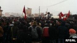 Протести кај Подуево