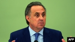 Russian Sports Minister Vitaly Mutko (file photo)