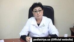 Флора Иноятова, супруга председателя Службы национальной безопасности (СНБ) Узбекистана Рустама Иноятова.