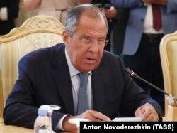 Оьрсийчоьнан арахьарчу гIуллакхийн министр Лавров Сергей