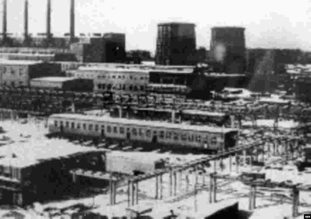 Освенцим концентрациялық лагері.
