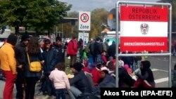 Refugiația la frontiera sloveno-austriacă în 2015