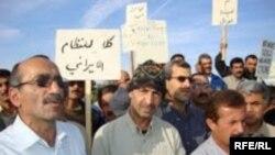 Акция протеста в Кэмп Ашраф