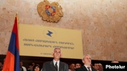 Armenia -- The opposition Armenian Pan-National Movement (HHSh) holds a congress in Yerevan, 17July 2010.