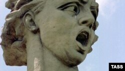 """Монумент """"Родина-мать зовет!"""" на Мамаевом кургане в Волгограде"""