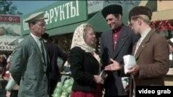 """Кадр из фильма """"Кубанские казаки"""""""
