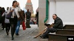 Инвалид у Красной площади
