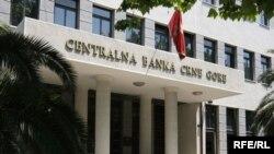 Sedište Centralne banke Crne Gore u Podgorici, foto Savo Prelević