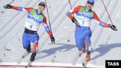 Олимпийский финиш Никиты Крюкова и Александра Панжинского, Ванкувер-2010