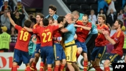 Испания - в финале Евро-2012. Донецк, 27 июня 2012