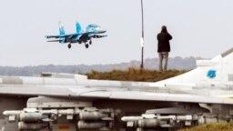 Ukraynada Aydın səma 2018 adlı NATO manevrləri keçirilib