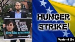 В сентябре 2018 года Мансур Садулаев объявил голодовку с требованием не допускать депортации Ахмеда Алтамирова в Россию из Боснии