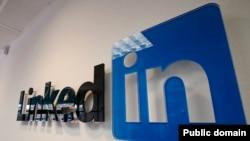 Логотип социальной сети для поиска деловых контактов LinkedIn