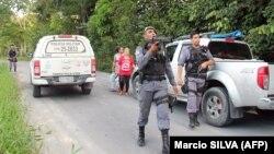 Бразилия полицияси.