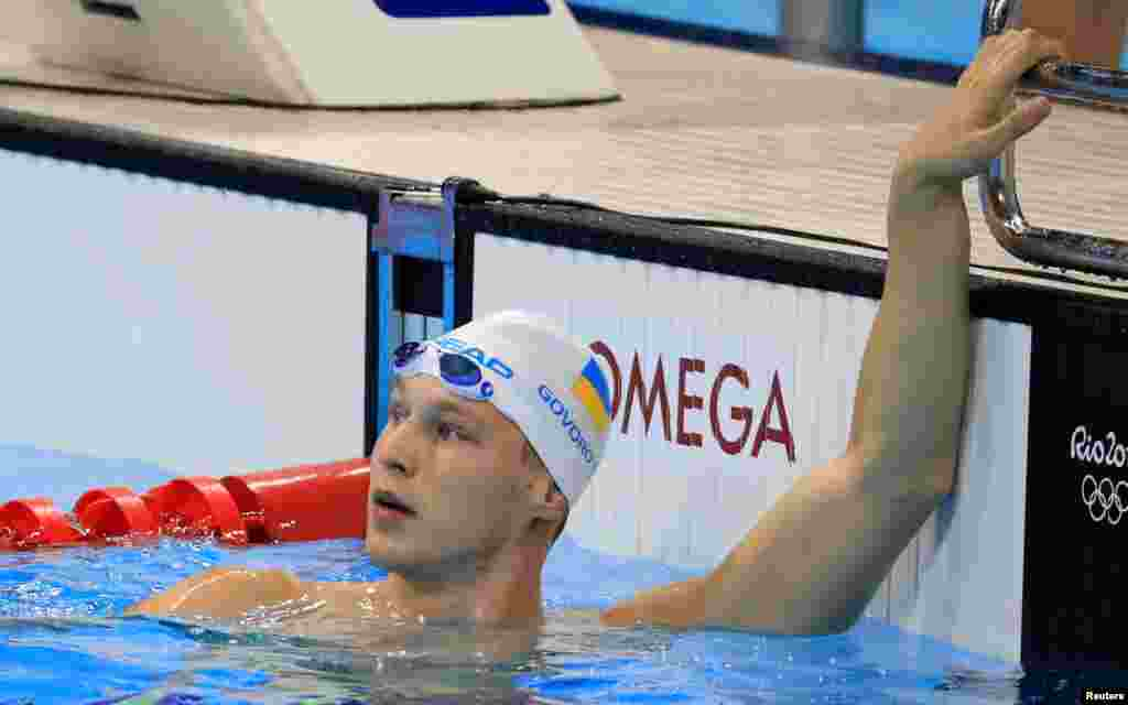 Українець Андрій Говоров переміг у своєму півфінальному запливі на дистанції 50 метрів вільним стилем і виступатиме у фіналі