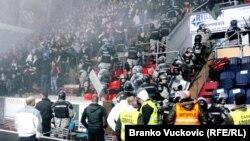 Sukob na utakmici u Kragujevcu, 10. februar 2013.