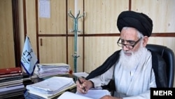 File photo - Ahmad Mortazavi Moqaddam, head of Iran's supreme court