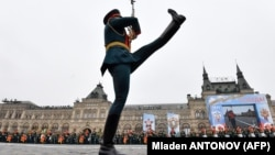 2019 йил 9 майидаги параддан лавҳа, Москва.