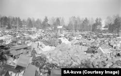 Град в източна Финландия се евакуира през март 1940 г. след като територията му преминава към СССР