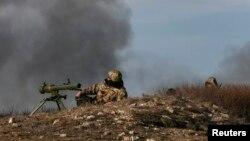 Донеки тирәсендә украин хәрбиләре сызыгы