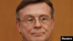 Леонід Кожара, новопризначений міністр закордонних справ, у день призначення, 24 грудня 2012 року