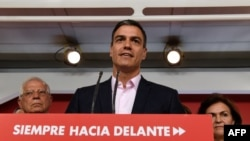 Премиерът и лидер на социалистите Педро Санчес
