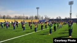 Тажикстандагы футбол фестивалы, 26-март, 2014.