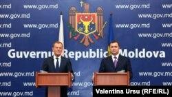 Vlad Filat și Donald Tusk