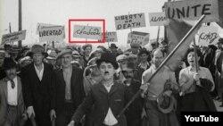 Чарлі Чаплін ужываў у сваіх фільмах беларускую мову