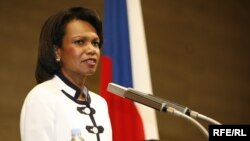 U.S. Secretary of State Condoleezza Rice