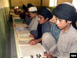مدرسه دینی در ایالت چمن پاکستان