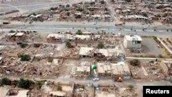Kuće oštećene u zemljotresu