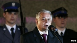 Polish President Lech Kaczynski (file photo)
