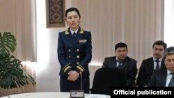 Аида Салянова баш прокурор кезинде