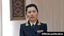 Аида Салянова.